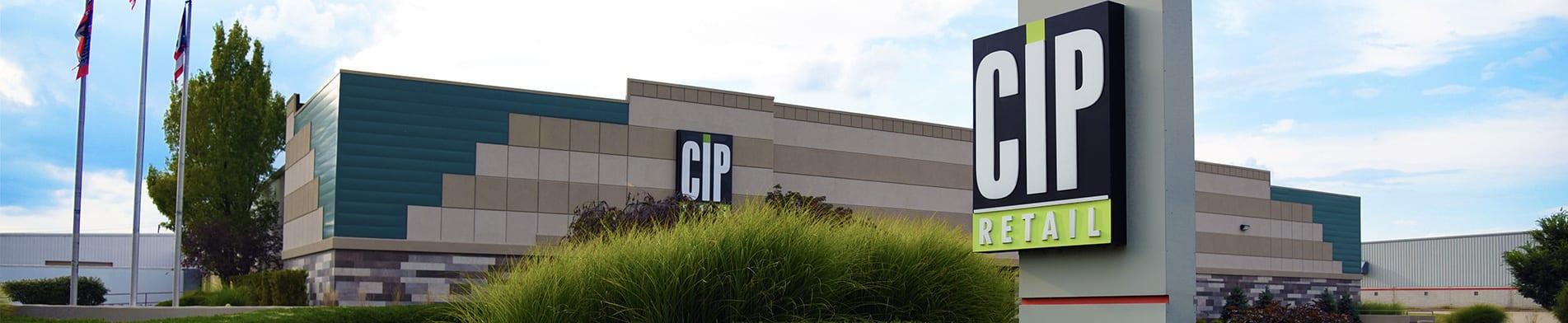 CIP Retail Building Facade