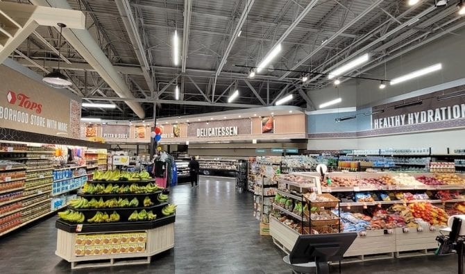 New Supermarket Store Design Unveiled at Tops Friendly Markets